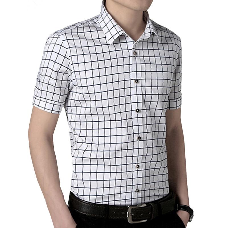 VISADA JAUNA Camisa de los hombres 2017 Verano Nueva Llegada de Moda - Ropa de hombre - foto 3