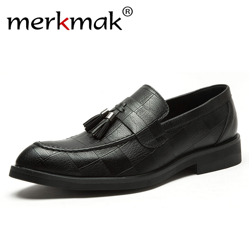 Spring Summer Genuine Leather Shoes Men Formal Shoes Black Dress Shoes Top Quality Carving Mesh Holes Breathable Big Size 36-46 Men's Shoes