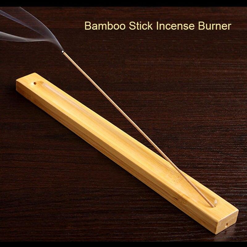 1 Stück Bambus Material Stick Weihrauch Platte Räucherstäbchenhalter Duftenden Ware-stick Weihrauch-brenner