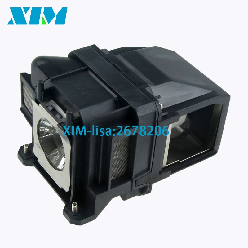 EB-X03 EB-X18 EB-X20 EB-X24 EB-X25 EH-TW490 EH-TW5200 EH-TW570 EX3220 EX5220 EX5230 Projector Lamp V13H010L78 ELPL78 For Epson