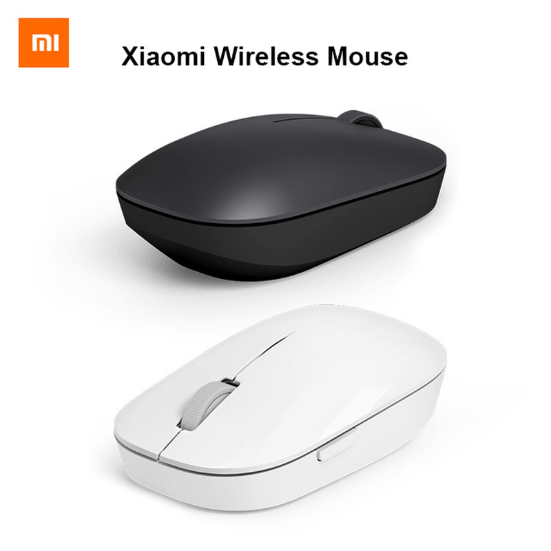Xiao mi 1200 dpi Mouse Sem Fio 2.4 GHz RF Optical Mouse Portátil Para Macbook mi Notebook Laptop Computador óptico sem fio rato