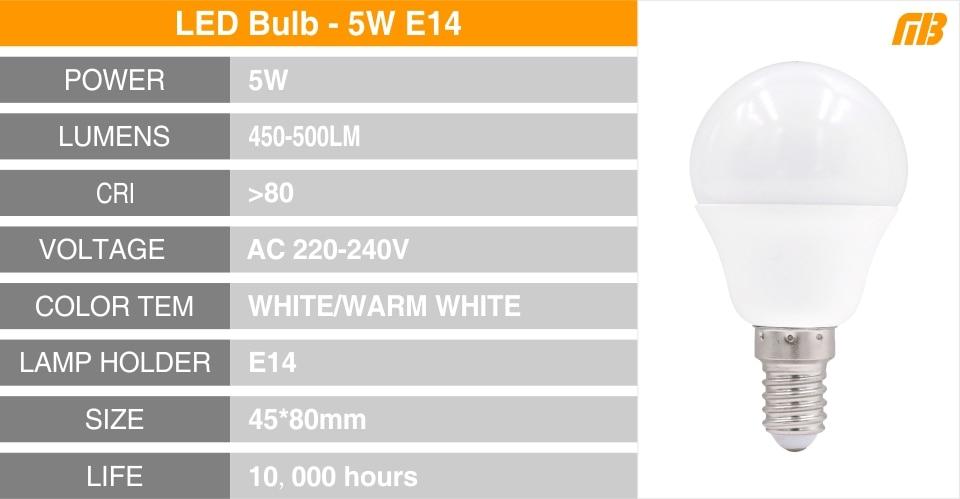 E14 E27 LED Bulb Lamp Series_10