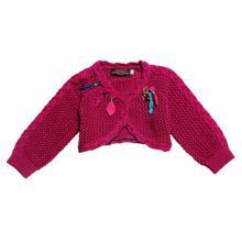 Catimini Бесплатная Доставка 2016 осень девушка трикотаж хлопок тройник волновой точки свитер пальто из девушек 23