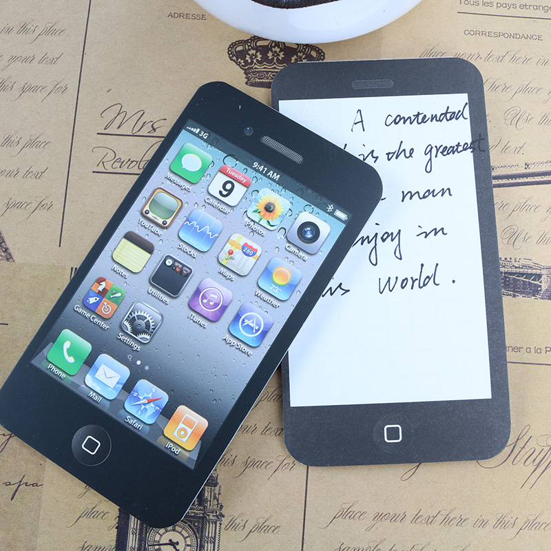 iphone memo pad sticky notes iphone promotion shop for promotional sticky 12025