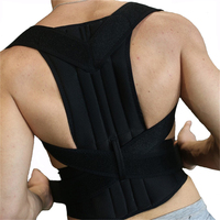 Health Back Posture Corrector Clavicle Support Belt Back Slouching Corrective Posture Correction Upper Spine Braces Supports