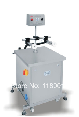 perfume/glass bottle air cleaning machine,semi automatic tube/bottle cleaning machine
