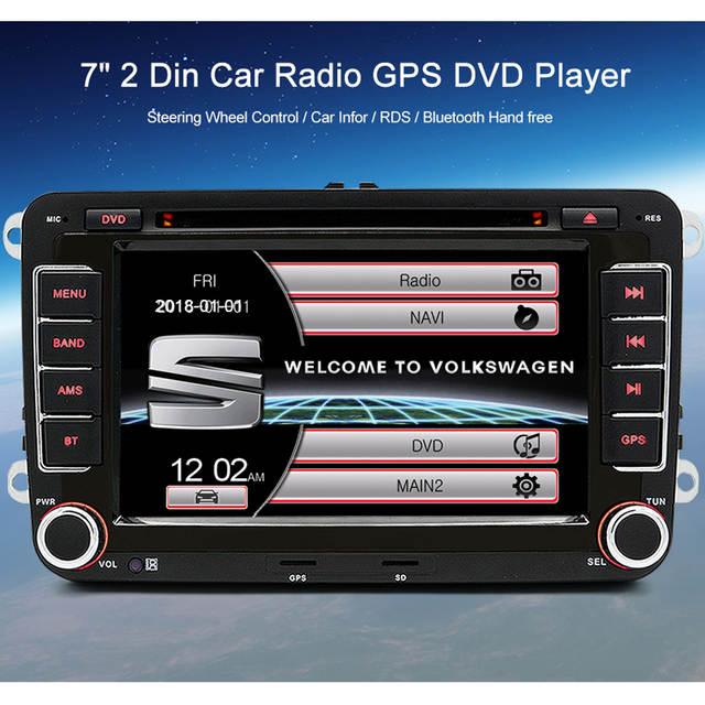 Online Shop Wholesale Junsun 2 Din 7 Car Dvd Multimedia Player Gps