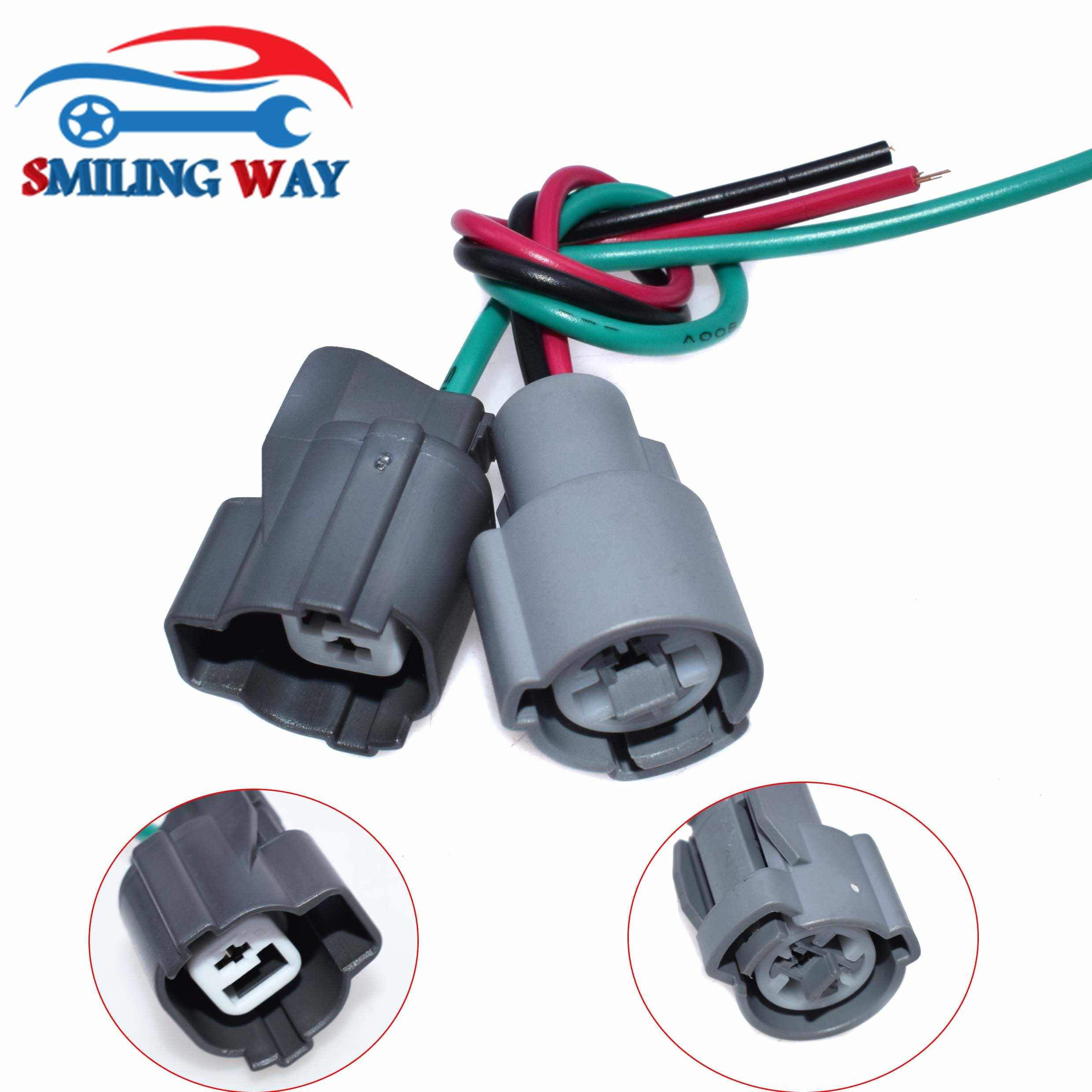 vtec solenoid switch oil pressure switch connector wire harness wiring pigtail plug for honda acura [ 2480 x 2480 Pixel ]