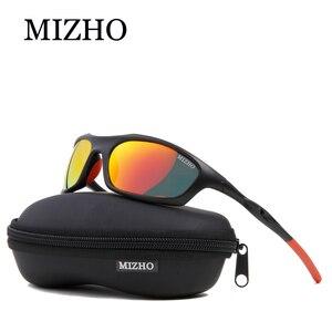 Image 2 - MIZHO Brand Anti Reflective Driving Sunglasses Men Polarized Mirror Fashion Small Frame Male Eyewear Women Sun Glasses Travel