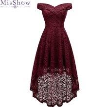 Элегантные сексуальные коктейльные платья с v-образным вырезом бордовое кружевное короткое спереди длинное сзади Свадебное платье размера плюс вечерние коктейльные платья vestido coctel