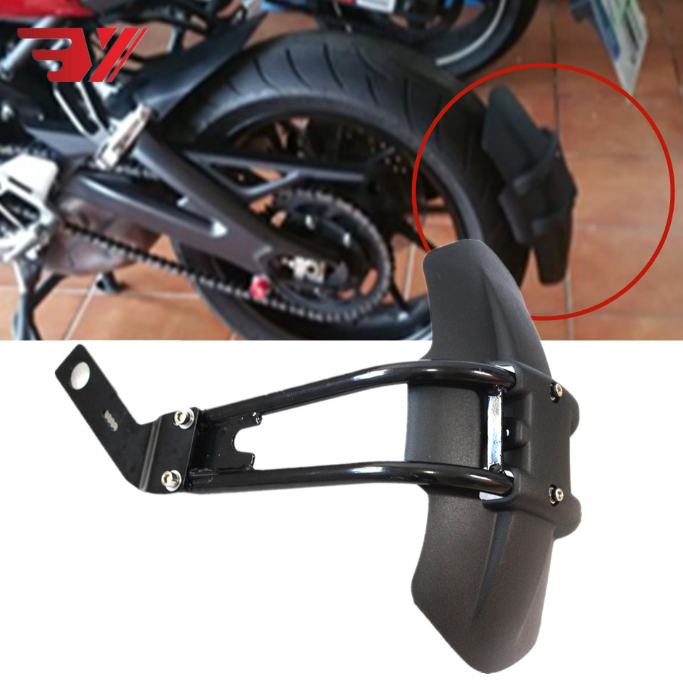Motorcycle Accessories CNC Aluminum ABS Plastic Rear Fender Bracket Motorbike Mudguard Fits For BMW F800GS F700GS