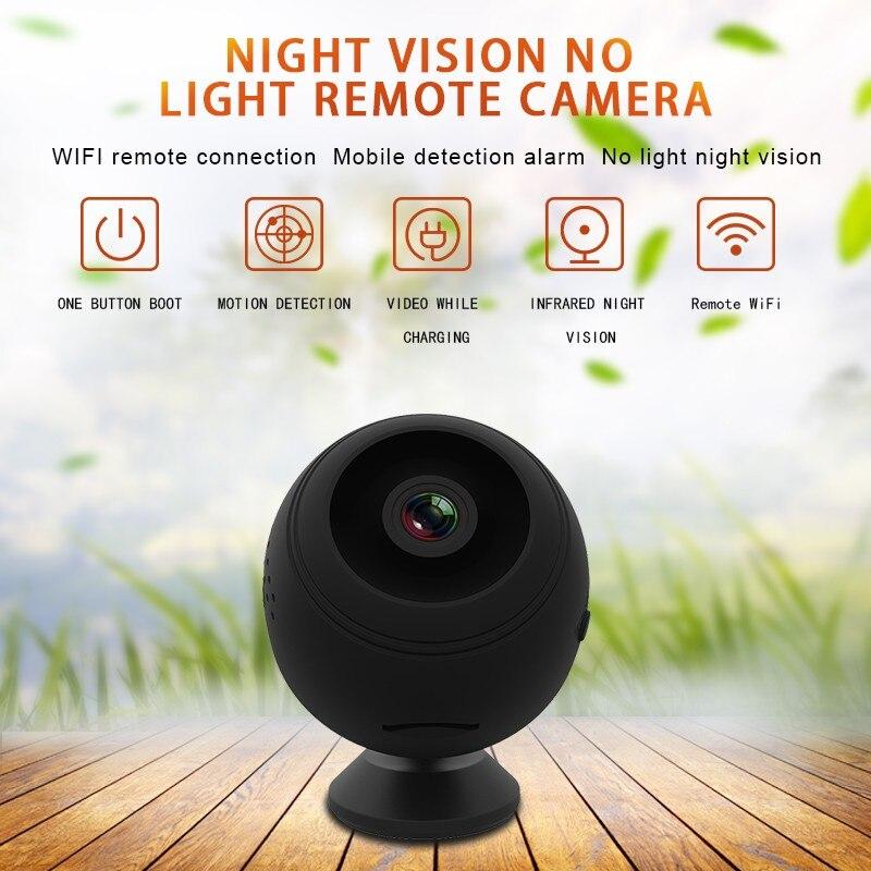 Mini Sans Fil WiFi caméra 1080 P caméra ip hd moniteur à distance caméra de sécurité de Détection de Mouvement vision nocturne caméscope À La Maison caméra ip - 2