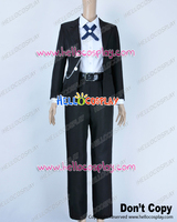 Danganronpa Dangan Ronpa Cosplay Byakuya Togami Costume Black Uniform H008