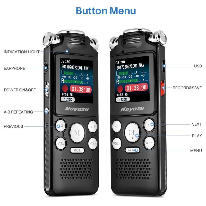 NOYAZU V59 8 GB აუდიო ხმის ციფრული - პორტატული აუდიო და ვიდეო - ფოტო 5