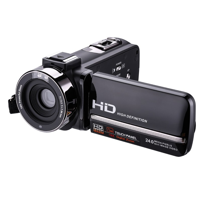 HDV-3051STRM 16X Full HD Camera 8MP CMOS Sensor Video Recorder Support Infrared Night Vision Professional Digital Camcorders