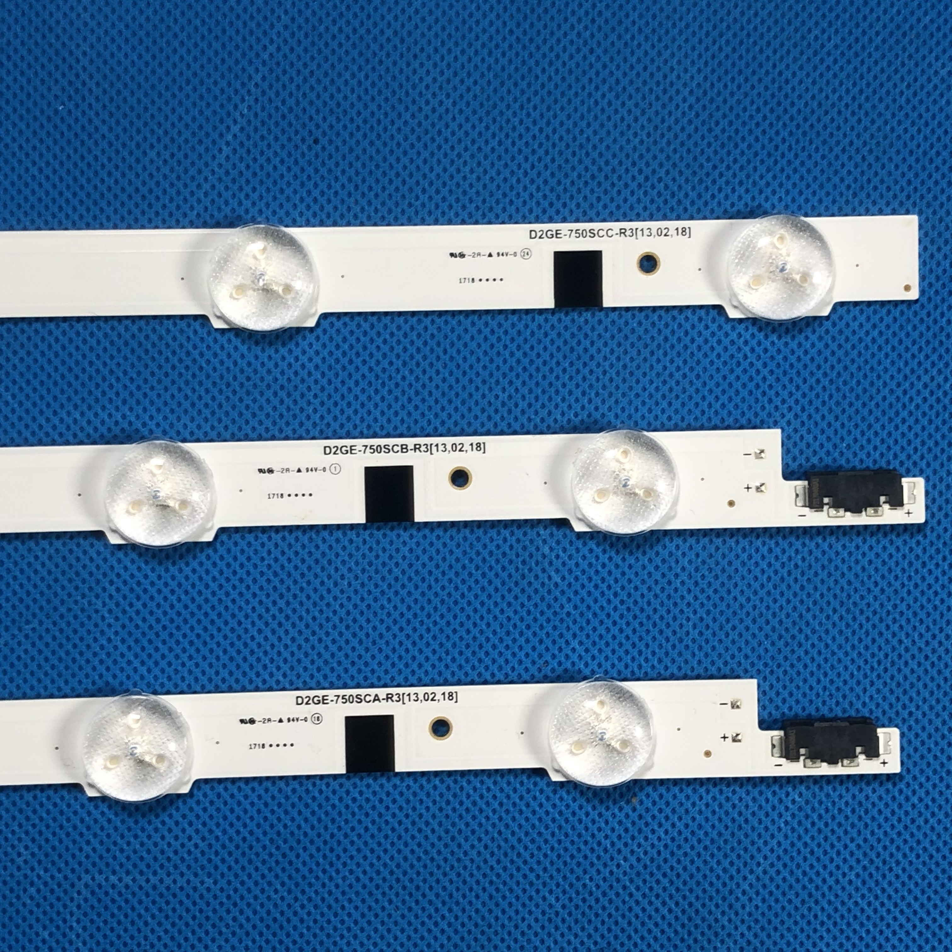 "Image 5 - LED strip (9Led+6led+9led) For Sam Sung 75""TV 2013SVS75F UA75F6400 CY GF750CSLV2V D2GE 750SCA R3 D2GE 750SCB R3 D2GE 750SCC R3-in LED Bar Lights from Lights & Lighting"