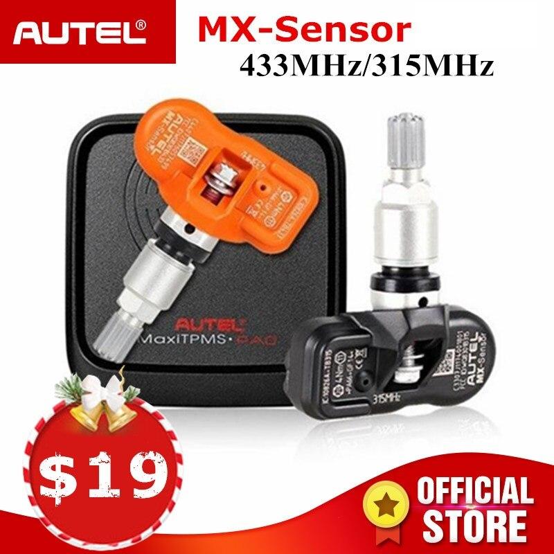 Autel MX Capteur 433 315 mhz TPMS Capteur De Réparation De Pneus Outils Scanner MaxiTPMS Pad de Pression des Pneus Moniteur Testeur Programmation MX -capteur
