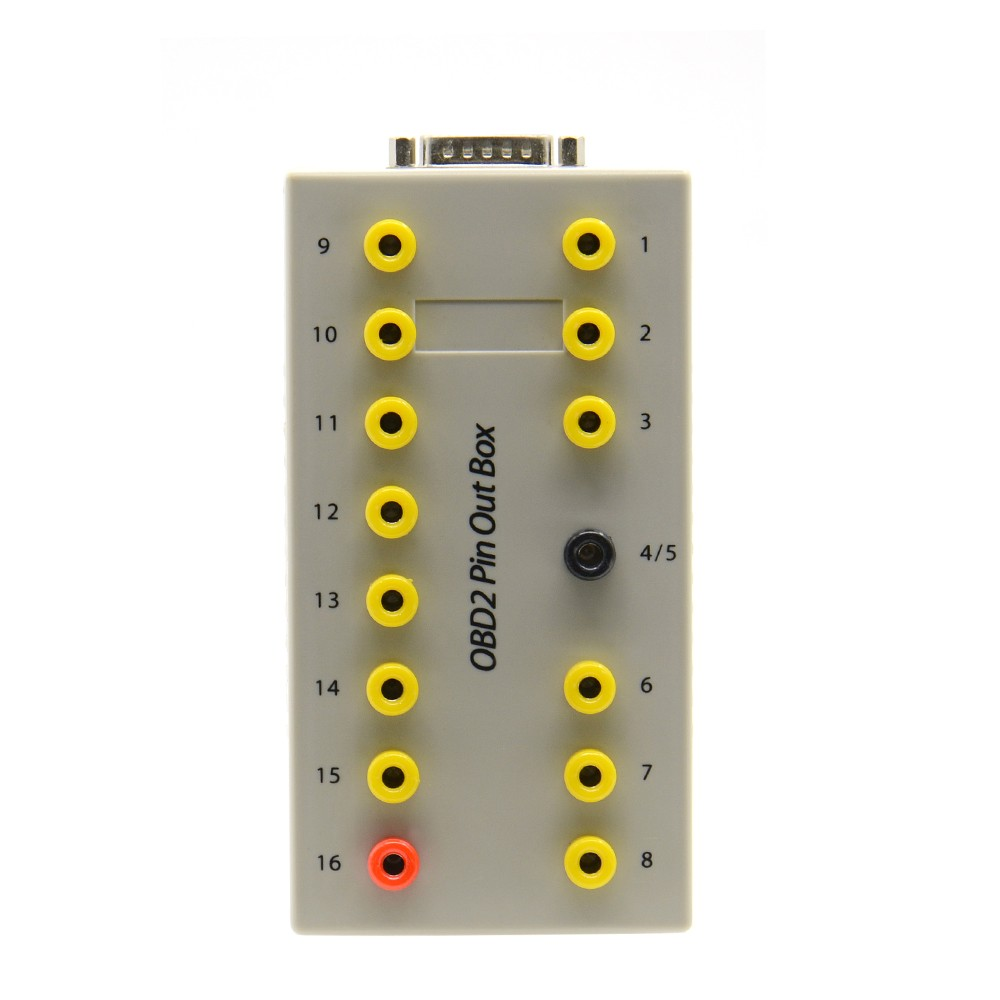 Prix pour Voiture De Diagnostic câble pour OBD2 Pin Out Box OBDII Breakout Box Tester Brochage boîte OBD2 pour le diagnostic