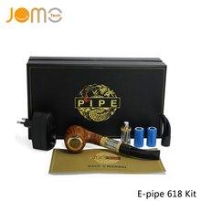 De Calidad superior e-pipe 618 Vape Mod Cigarrillo Electrónico Tubo de Doble 900 mAh Recargable Pipa De Madera Mod E Tubería K1000 VS Plus Jomo-223