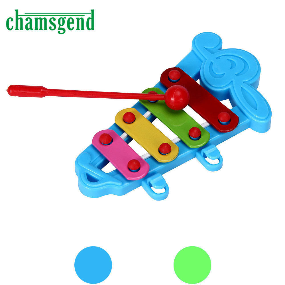 HOT Baby Kid 4-Note Xylophone Musical Toys Wisdom Development Musical Instrument Gift For Child 11.5cmX6cm SEP 01