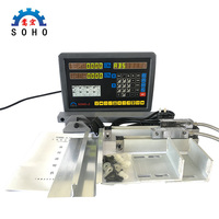 lathe / milling / drill / EDM / CNC machine 2 axis digital readout DRO and linear scale / linear sensor