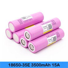 inr18650 35e Turmera For samsung 18650 3500mAh 15A discharge INR18650 35E 18650 Li-ion battery 3.7v rechargable Battery