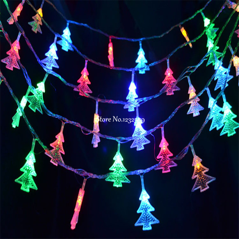 10M/33ft 80 LED Party fairy lights Battery Operated Christmas Tree ...