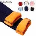 6 Цвет Мода Для Беременных Брюки Зимние Теплые Леггинсы для Беременных Женщин Плюс Размер Тощий Тонкий Стрейч Одежда для Беременных Одежда