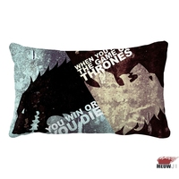 Game of Thrones Multi Size Rectangle Throw Pillow Case Free Shipping|pillow case|pillow game of thrones|pillow game -