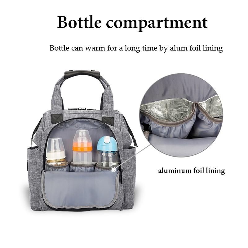 Waterproof Diaper Bag for Mommy Maternity Nappy Backpack Baby Stroller Pram Organizer Nursing Changing Bag Baby Care Luiertas