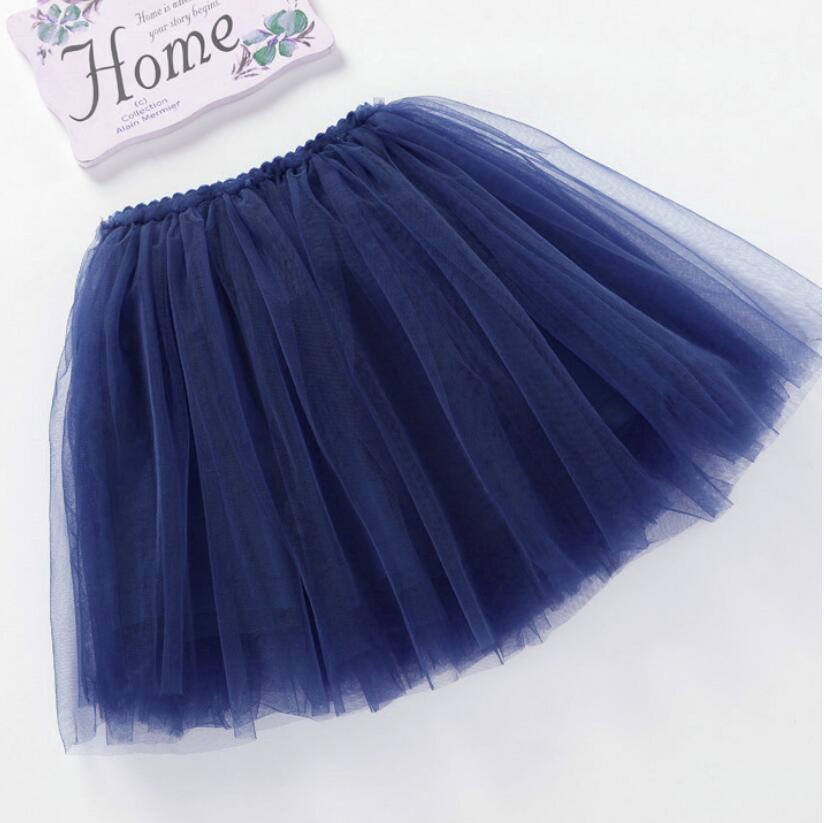 summer lovely fluffy soft tulle baby girls tutu skirt pettiskirt 14 colors girls skirts for 6M-14Yrs kids mother daughter skirts 4