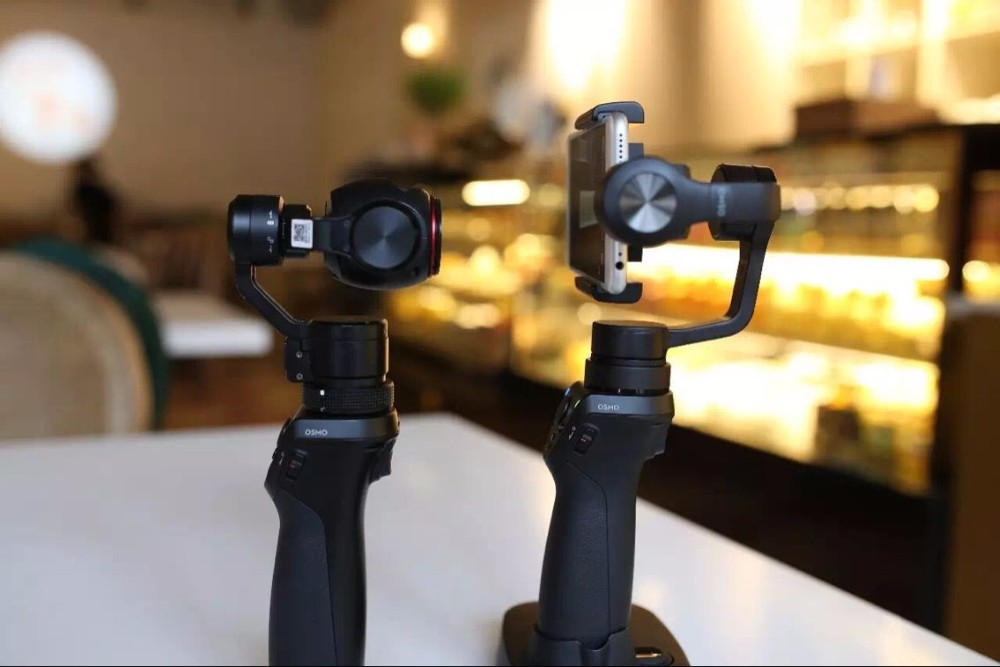 Newest DJI OSMO Mobile 3-Axis Handheld Gimbal Stabilizer same handle as OSMO for smartphone For iphone 7 PK Z1 Smooth C