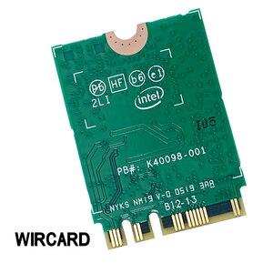 Image 4 - بطاقة WIRCARD لثنائي النطاق AX200 2400Mbps لاسلكي AX200NGW NGFF M.2 بلوتوث 5.0 بطاقة شبكة Wifi 2.4G/5G 802. 11ac/ax