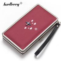 Baellerry Luxury Women Wallet Phone Bag Leather Case For IPhone 7 6 3d Airplane Long Wallets