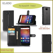 Leather Phone Case For Huawei Ascend XT Sleeve With Card Slot Stand Holder Phone Bag Mobile Phone Accessories Parts KLAIDO