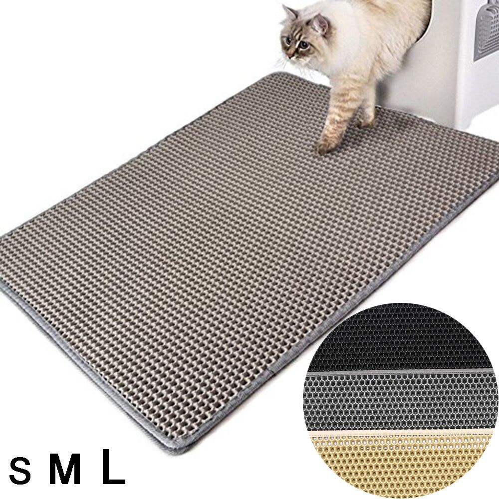 Складной коврик для кошачьих туалетов EVA, коврики для кошачьих туалетов, водостойкие подушки, пенопластовые резиновые массажные подушечки