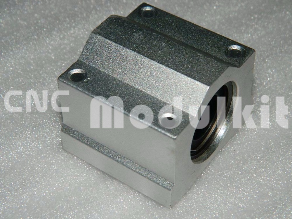 4PC Liner Motion Ball Units Series Pillow Block Slide with Bearing SCS10UU 10mm US Shipping
