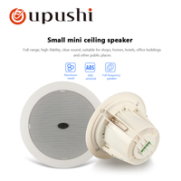 A063 4.5 inch mini Bathroom water proof Ceiling Speaker for Special loudspeaker for background music system