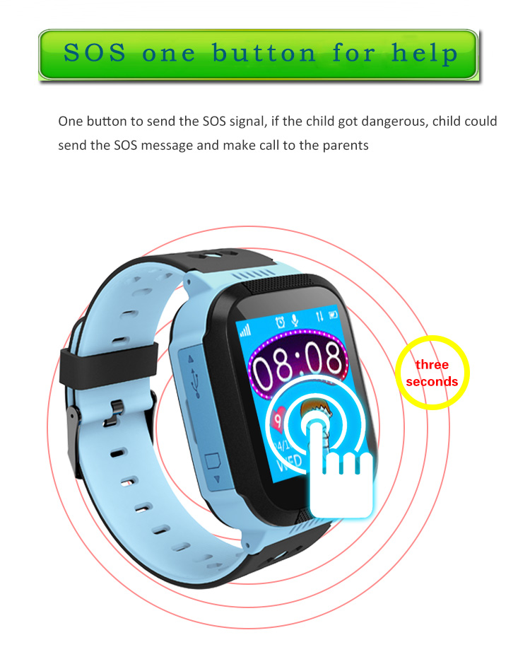 MOCRUX Q527 Smart watch Children Kid Wristwatch SOS GSM Locator Tracker Anti-Lost Safe Smartwatch Child Guard for iOS Android (8)