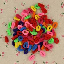 200 Pcs Colorful Child Kids font b Hair b font Holders Cute Rubber font b Hair