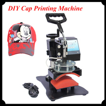 DIY Cap Printing Machine 8cm*15cm Heat Press Machine for Hat Digital Grilled Caps Push-Pull Thermal Transfer Machine