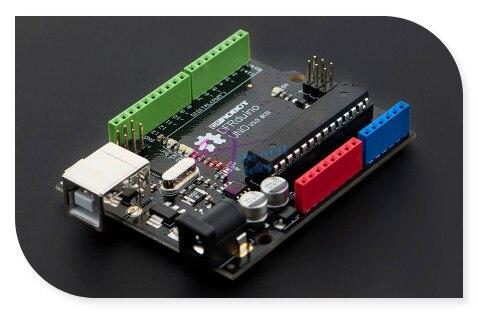 DFRobot Genuine DFRduino UNO R3 / V3.0 Development Board, ATmega328 ATmega16U2 7~12V Completely compatible with Arduino UNO R3 open smart uno atmega328p development board for arduino uno r3