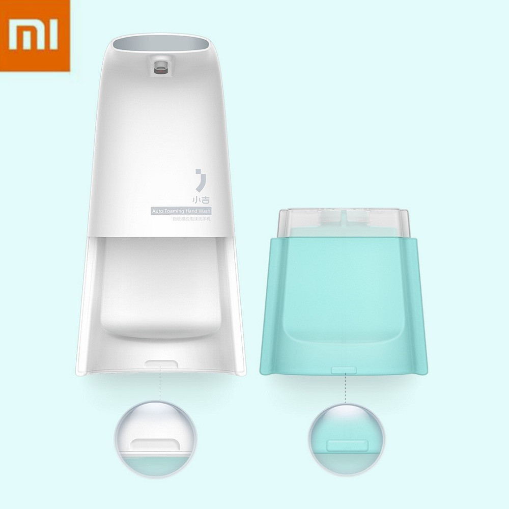 Xiaomi Mijia Smart Soap Dispenser Automatically Touchless Foaming Dish Inducs Foam Washing Soap Dispenser kitpag47436wns101 value kit procter amp gamble professional foam hand soap dispenser pag47436 and windsoft 101 bleached white embossed c fold paper towels wns101