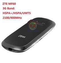 unlocked ZTE router MF60 21.6M WCDMA 3G wifi wireless router 3G modem  dongle pk mf61 mf90 mf91 r208 e586 e5330 e5220