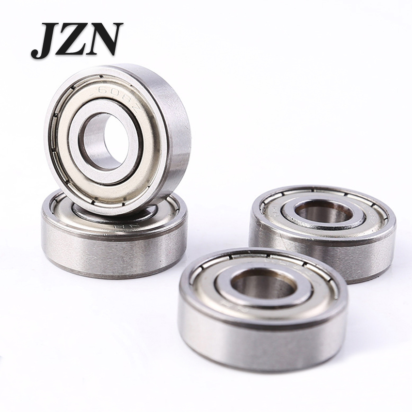 R188ZZ ABEC-1 (10PCS) 6.35X12.7X4.76mm Miniature Bearings R188ZZ
