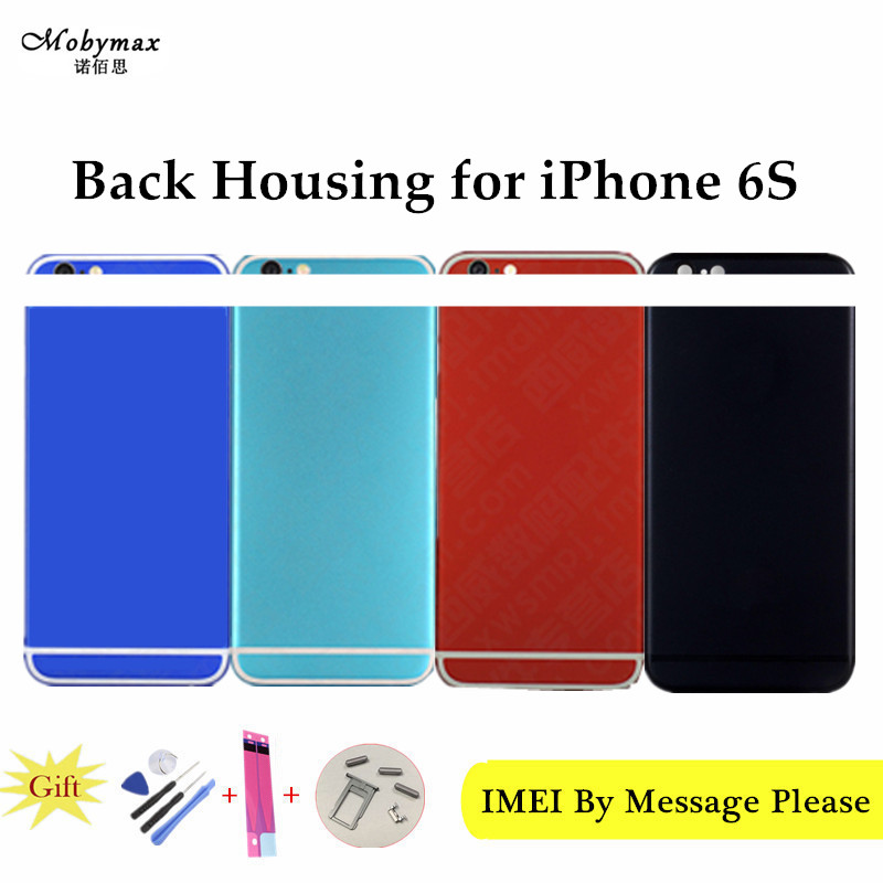 7e6951397ee Chassis Back Housing Battery Cover Fundas Coque for iPhone 6S A1688 A1633  Housing+Buttons&Sim Tray+Sticker+Tool+Custom IMEI