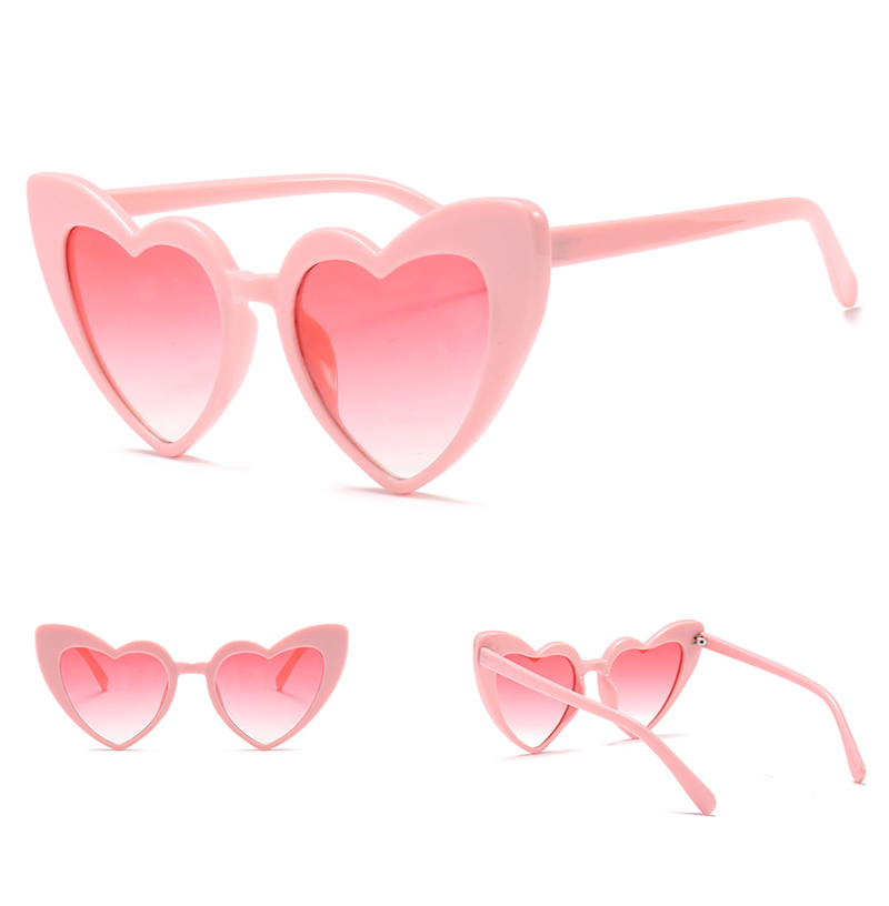 love heart sunglasses women cat eye vintage 7112 details (6)