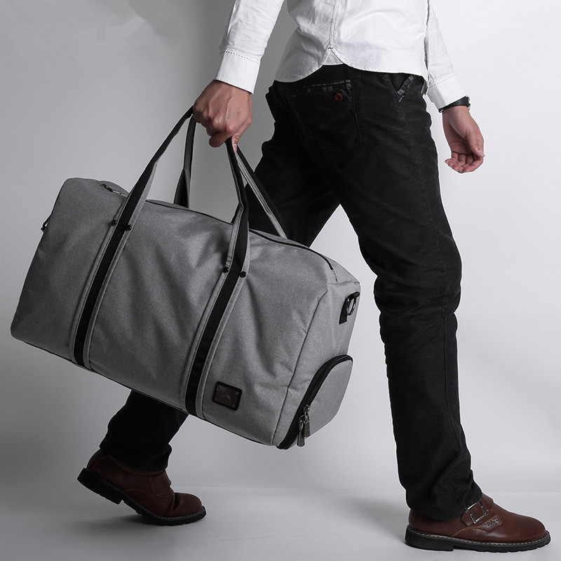 ФОТО Hold-all male large capacity travel luggage Business one shoulder light big bag 55006