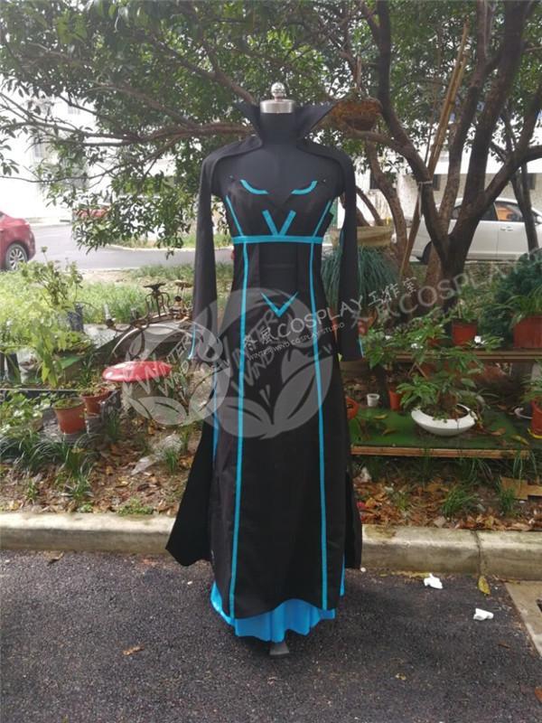 Morgan le Fate/Apocrypha Cosplay Morgan cosplay costume dress custom made 2