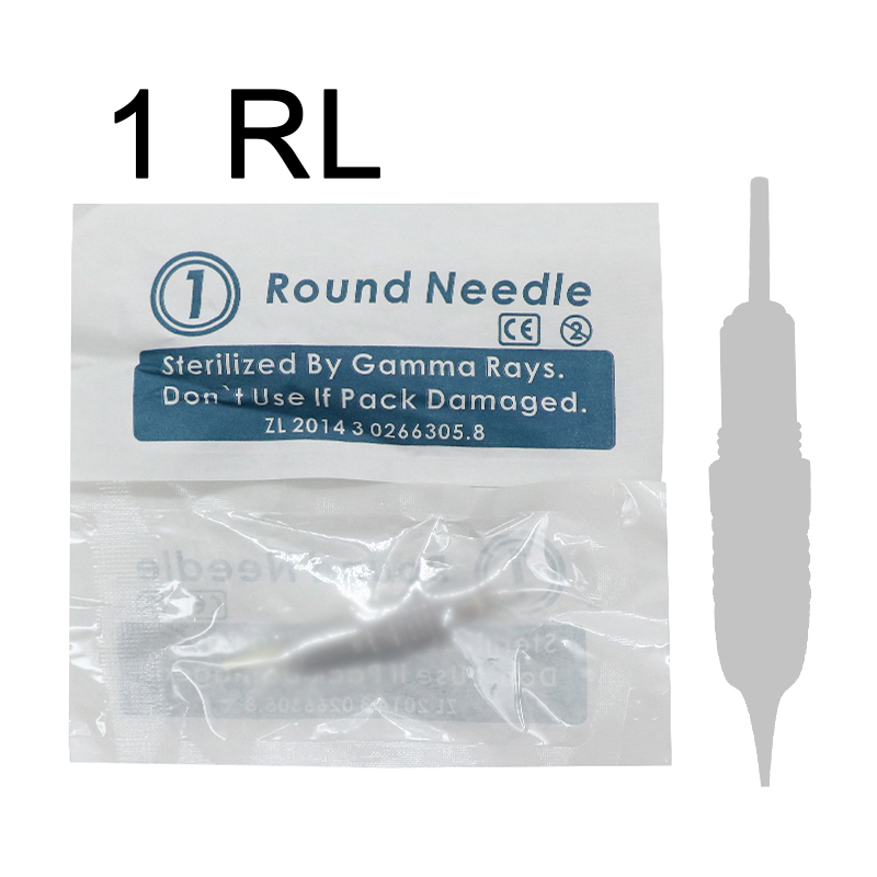 permanent Makeup needle 1 prong 3R 5R 7R 50pcs for eyebrow eyeline lip safety needle for liberty digital tattoo machine free shipping touch digital pemanent makeup machine for eyebrow eyeline lip and face